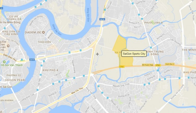 keppel land va du an saigon sports city quan 2